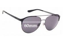 Sunglass Fix Replacement Lenses for Ralph Lauren POLO PH3123 - 60mm wide