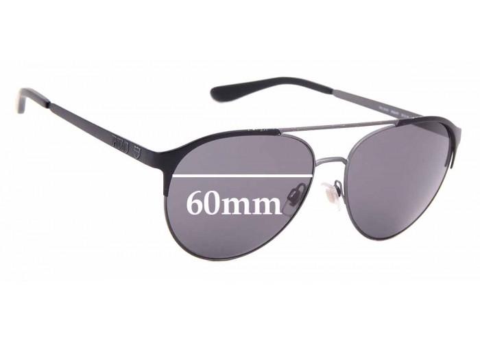 SFX Replacement Sunglass Lenses fits Ralph Lauren Polo PH 3087 64mm Wide Men  Replacement Sunglass Lenses
