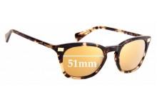 Sunglass Fix Replacement Lenses for Ralph Lauren RA5236 - 51mm Wide
