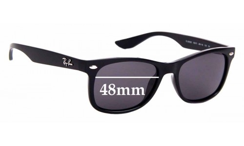 Sunglass Fix Replacement Lenses for Ray Ban Jr RJ9052-S - 48mm Wide