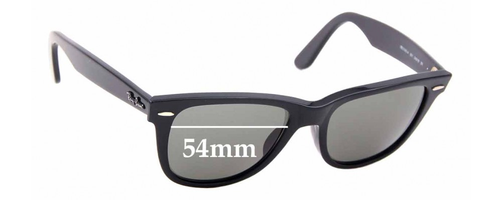 Sunglass Fix Replacement Lenses for Ray Ban RB2140-A Wayfarer - 54mm wide