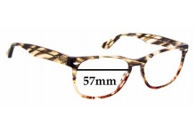 Sunglass Fix Replacement Lenses for Ray Ban RB2184 - 57mm wide