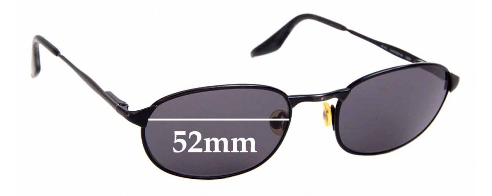 Sunglass Fix Replacement Lenses for Ray Ban RB3003 Highstreet MS - 52mm Wide