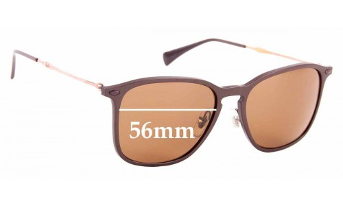Sunglass Fix Replacement Lenses for Ray Ban RB8353 - 56mm Wide