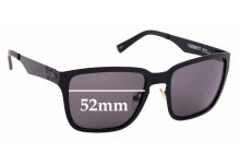 Sunglass Fix Replacement Lenses for Rip Curl T-Street - 52mm Wide