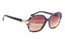 Sunglass Fix New Replacement Lenses for Roberto Cavalli Menkib 903S - 58mm Wide