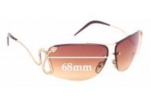 Sunglass Fix Replacement Lenses for Roberto Cavalli Maia 152S - 68mm