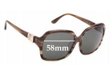 Sunglass Fix Replacement Lenses for Salvatore Ferragamo SF653SA - 58mm wide