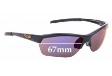Sunglass Fix Replacement Lenses for Smith Approach Max - 67mm wide