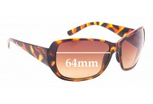 Sunglass Fix Replacement Lenses for Smith Hemline - 64mm wide