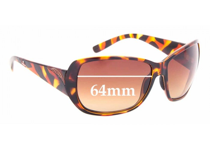 SFX Replacement Sunglass Lenses fits Spotters Pivot 64mm Wide