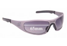 Sunglass Fix Replacement Lenses for Snap On Gasket - 65mm Wide