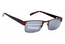 Sunglass Fix Replacement Lenses for Specsavers Conan - 53mm Wide