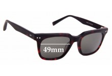 Sunglass Fix Replacement Lenses for Spencer Wilson Onyx - 49mm Wide