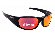 Sunglass Fix Replacement Lenses for Spotters Alpha 2016 & Newer - 63mm Wide