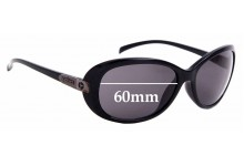 Sunglass Fix Replacement Lenses for Spotters Ebony - 60mm Wide