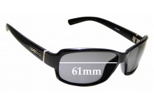 Sunglass Fix Replacement Lenses for Spotters Whiskey - 61mm Wide