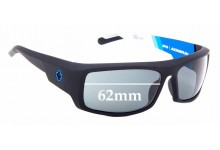 Sunglass Fix Replacement Lenses for Spy Optics Admiral - 62mm Wide