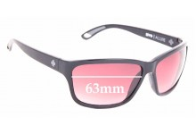 Sunglass Fix Replacement Lenses for Spy Optics Allure - 63mm Wide