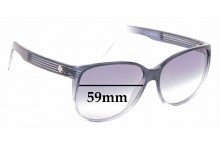 Sunglass Fix Replacement Lenses for Spy Optics Clarice - 59mm Wide