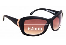 Sunglass Fix Replacement Lenses for Spy Optics Farrah - 62mm Wide
