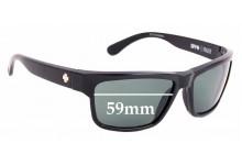 Sunglass Fix Replacement Lenses for Spy Optics Frazier - 59mm Wide
