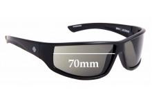 Sunglass Fix Replacement Lenses for Spy Optics Jackman - 70mm Wide