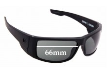 Sunglass Fix Replacement Lenses for Spy Optics Konvoy - 66mm Wide