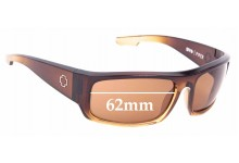 Sunglass Fix Replacement Lenses for Spy Optics Piper - 62mm Wide