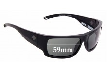 Sunglass Fix Replacement Lenses for Spy Optics Rover - 59mm Wide