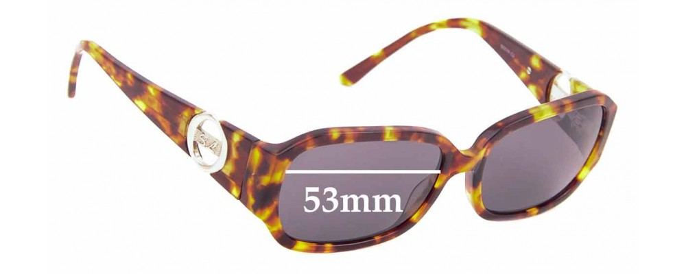 Sunglass Fix Replacement Lenses for Stephanie Leigh 14SL3PSJ - 53mm