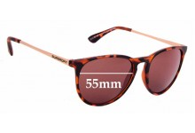 Sunglass Fix Replacement Lenses for Superdry SD Sun Rx Ellen - 55mm Wide