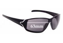 Sunglass Fix Replacement Lenses for Tag Heuer Racer TH9203 - 63mm Wide
