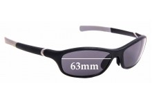 Sunglass Fix Replacement Lenses for Tag Heuer TH 6001 - 63mm Wide