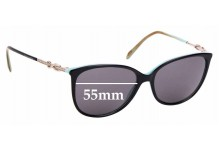 Sunglass Fix Replacement Lenses for Tiffany & Co TF 2143-B - 55mm Wide
