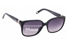 Sunglass Fix Replacement Lenses for Tiffany & Co TF4078-B - 55mm Wide
