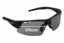 Sunglass Fix Replacement Lenses for Tifosi Optics Crit - 69mm Wide