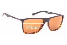Sunglass Fix Replacement Lenses for Timberland TB9108 - 57mm wide