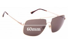 Sunglass Fix Replacement Lenses for Tom Ford Aiden-02 TF585 - 60mm Wide