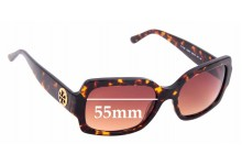 Sunglass Fix Replacement Lenses for Tory Burch TY7135 - 55mm Wide