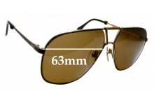 Sunglass Fix Replacement Lenses for Valentino 5306 - 63mm Wide