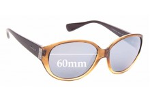 Sunglass Fix Replacement Lenses for Vogue VO 2760-S-B 60mm wide