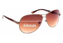 Sunglass Fix Replacement Lenses for Vogue VO3752-S - 64mm Wide