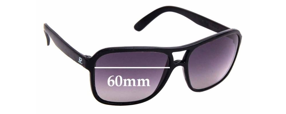 Sunglass Fix Replacement Lenses for Vuarnet Pouilloux 003 - 60mm Wide