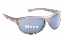 Sunglass Fix Replacement Lenses for Zerorh+ Enthyus RH65106 - 64mm Wide