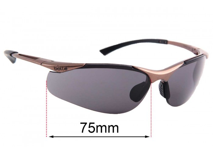 Fuse Lenses Polarized Replacement Lenses for Bolle Swisher