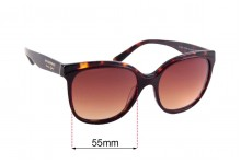 Burberry B4270 Replacement Sunglass Lenses - 55mm Wide
