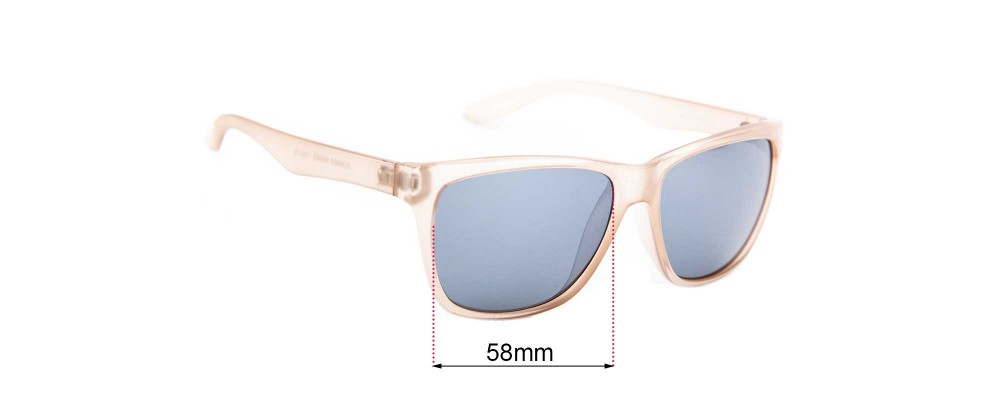 Sunglass Fix Replacement Lenses for Cancer Council Summer Series - 58mm wide
