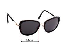 Sunglass Fix Replacement Lenses for Carla Zampatti Sun Rx 12 - 54mm Wide
