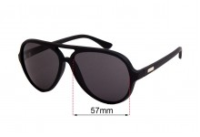Sunglass Fix Replacement Lenses for Childe Delete - 57mm wide